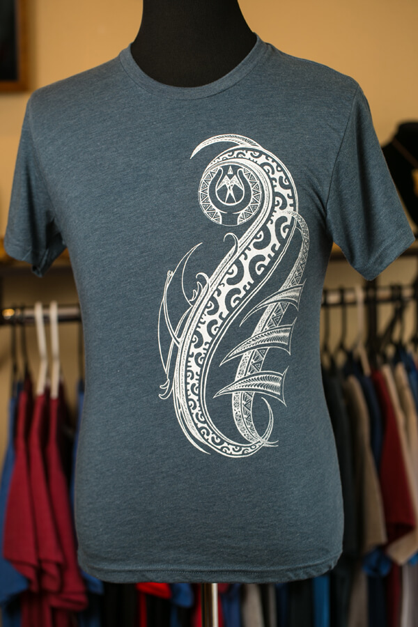 Makau Nui Hand Carved Traditional Polynesian Artwork